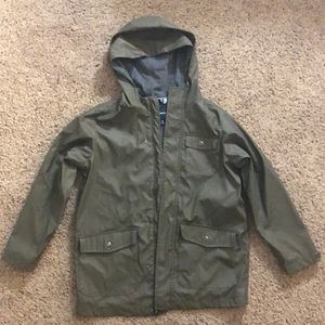 Gap Kids Olive Color Raincoat